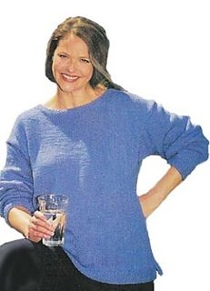 Ravelry: Boat Neck Sweater #971 pattern by Lion Brand Yarn