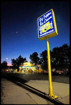 Big Dipper Ice Cream, Missoula Montana- Hey I've had huckleberry ice cream here! :)