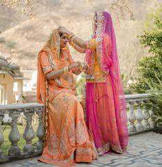Indian Designer Outfits, Indian Outfits, Indian Bride Dresses, Rajasthani Dress, Beautiful Indian Brides, Indian Wedding Photography Poses, Rajputi Dress, Bridal Poses, Stylish Blouse Design