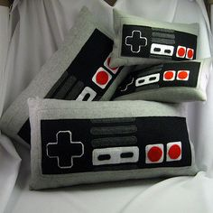 Controller pillows | Pillows made for my store. See my profi… | Flickr