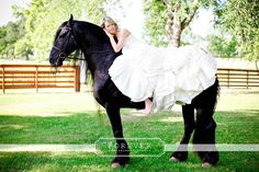 I MUST have a picture like this! Horse Fashion Photography Learn about #HorseHealth #HorseColic www.loveyour.horse
