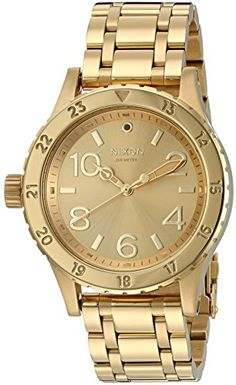Great gift idea Nixon Women's 38-20 All Quartz Stainless Steel Automatic Watch (Model: A410-502-00)