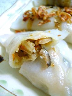 Peng's Kitchen: Soon Kueh 笋粿 Asian Snacks, Asian Desserts, Asian Recipes, Chinese Desserts, Chinese Food, Malaysian Dessert, Malaysian Food, Malaysian Recipes, Chinese Side Dishes