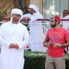 12/2014 with Sheikh Mansoor