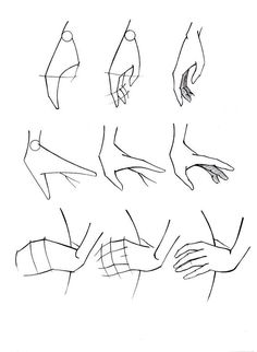 Drawing sketches hands illustrations 55 ideas to drawing anime Drawing sketches hands illustrations 55 - Art Sketches Drawing Lessons, Drawing Poses, Drawing Techniques, Drawing Tips, Drawing Hands, Drawing Drawing, Drawing Ideas, Woman Drawing, Drawings Of Hands
