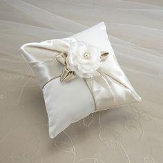 Rose Ring Bearer Pillow