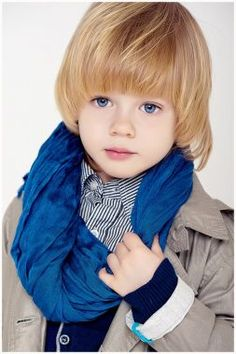 imagenes de peinados para niños pelo largo