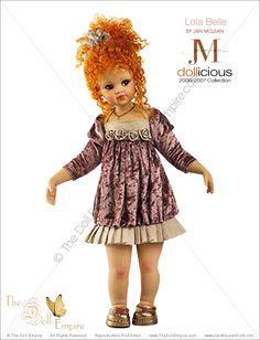 Lola Belle by Jan McLean - Dollicious Collection - Porcelain Artist Doll