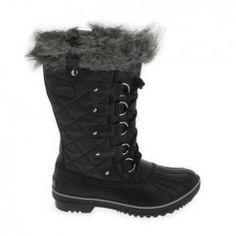 Sorel Tofino Herringbone Marron Marron - Chaussures Bottes de neige Femme