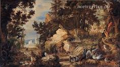 This wooded landscape of shows a Dodo, extinct since The painting was made by Hans Savery the younger, possibly with his uncle Roelant Savery. On show at BRAFA next month with Douwes Fine Art. Antique Fairs, Art Fair, Old Things, Fine Art, Extinct, Painting, Shop Signs, Kunst, Painting Art