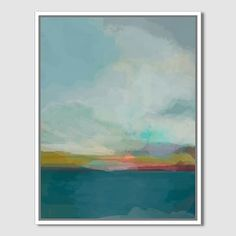 """Minted for west elm, Morning Walk, 22""""x28"""""""