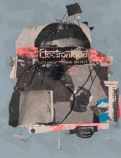 "Saatchi Art Artist Micosch Holland; Collage, ""We have Electronique"" #art"