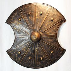 European medieval Troy ancient Roman shield wall decor - FREE SHIPPING