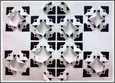 Cut Paper Relief