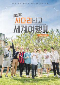 EXO's Travel the World on a Ladder Season 2 Kyungsoo, Chanyeol, Exo Show, Exo News, Exo Korea, Exo 2014, Exo Red Velvet, Exo Group, Dramas Online