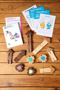 Compassion-Teaching Playthings - The Empathy Toy Instills an Important Emotion in Children (GALLERY) Designer Toys, Puzzle Pieces, Design Awards, Business Design, Teaching Kids, Compassion, Wooden Toys, Kids Toys, Learning