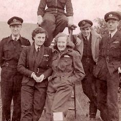 Molly Rose pictured second from the left with her flying squadron back in the day. Molly flew Hurricanes, and Spitfires. Unfortunately she passes away last year. #99s #womenpilots #NinetyNines #FlyNow #womenaviatiors #aviatrix #ATA
