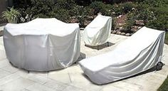 Custom Patio Furniture Covers, Lawn Furniture and Patio Accessories. Custom fit your outdoor furniture or practically anything else that you need to cover Outdoor Furniture Covers, Patio Furniture Sets, Custom Furniture, Furniture Ideas, Small Covered Patio, Concrete Patio Designs, Cozy Patio, Patio String Lights, Fire Pit Seating