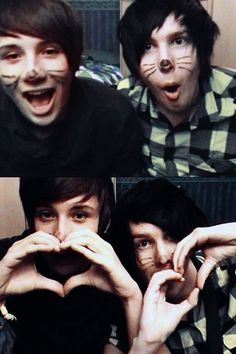 Whiskers and Hearts =^.^= <3 Danisnotonfire and amazingphil
