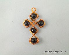 diy wigjig pattern - tutorial with or without beads.