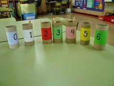 Interesante blog que nos aporta materiales para trabajar las matemáticas en infantil