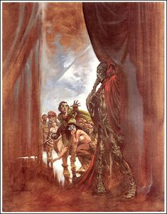 Masque of the Red Death - Art by Bernie Wrightson