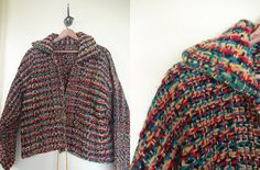 Library Loft Handmade 1960s Sweater by KittyHawVintage on Etsy, $38.00