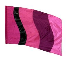 fi105g Pink Color Guard flag from The Band Hall