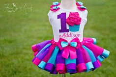 How cute is this Birthday Girl Cupcake tutu outfit? Its perfect for your little girls first birthday outfit, photo shoot, or dance costume. Girl Birthday Cupcakes, 1st Birthday Onesie, Pink First Birthday, Girl Cupcakes, Wedding Cakes With Cupcakes, Cute Cupcakes, First Birthday Outfits, Tutu Outfits, Girl Outfits