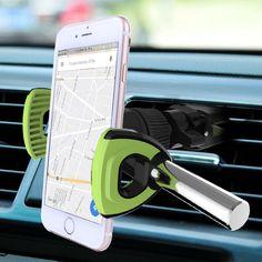 Quirkio Universal Air Vent Car Mount Phone Holder