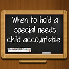 When to hold a special needs child accountable  I love having the boys home but I hate these four-day weekends because they totally throw me off the following week. All day today I thought it was Sunday because the boys were home from school. I'll end up being a day off for most of the week. 😁  Putting that aside, I think...  #Autism #Parenting #Fatherhood #SpecialNeedsParenting  https://www.theautismdad.com/2017/02/20/when-to-hold-a-special-needs-