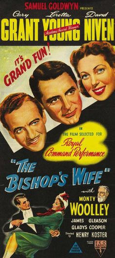 The Bishop's Wife (1947)    Pikitia Press Blog: Phil Belbin