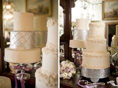 Downton Abbey Wedding Inspiration Cake   Nuptial Network