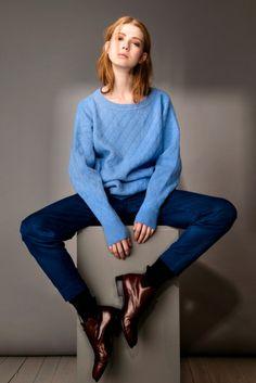 MASKA AW16 Irja Dena Dena, Girl Fashion, Pullover, Sweaters, Collection, Women's Work Fashion, Girl Clothing, Sweater, Sweatshirts