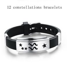 12 Zodiac Signs Bracelet