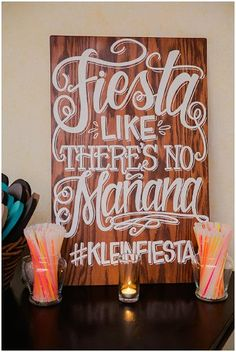 Fiesta like there's no manana at your Cinco de Mayo party! Cabo, Party Mottos, Fiestas Party, Party Fiesta, Blush And Grey, Spanish Wedding, E Mc2, Wedding Signs, Wedding Ideas