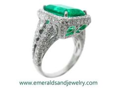 Genuine Emerald Rings for Sale Real Colombian Emeralds