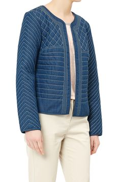 MONSOON by Blue 73 Maddie Quilted Jacket.  UK14 EUR42  MRRP: £69.00GBP - AVI Price: £46.99GBP