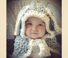 Cute Bunny Hooded cape
