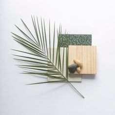 How relaxing is this material board and color combination? Light wood and greens are the answer to a tranquil space! Mood Board Interior, Material Board, Color Stories, Diy Arts And Crafts, Colour Schemes, Mood Boards, Color Inspiration, Planer, Creations