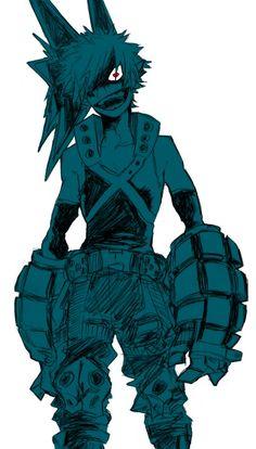 My Hero Academia (Boku No Hero Academia) #Anime #Manga Bakugou