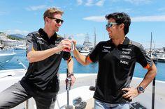 Formula 1 glamour! Force India, One Team, Formula One, F1, Glamour, The Shining