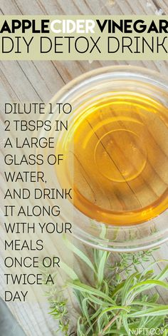 Try this DIY detox drink! Apple cider vinegar has so many amazing healthy benefits. Click the image to read all of the benefits. Apple Cider Vinegar Remedies, Apple Cider Vinegar Benefits, Nutrition Tips, Fitness Nutrition, Health Tips, Healthy Eating Recipes, Healthy Life, Healthy Food, Flu Remedies