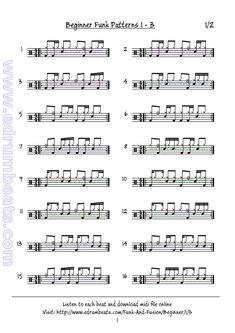Funk beats lesson 3.