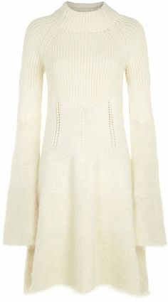 MCQ ALEXANDER MCQUEEN Mohair Knit Dress - Lyst