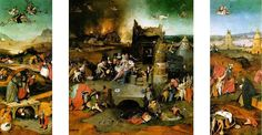 Hieronymus Bosch: Temptation of Saint Anthony