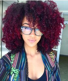 155 Best Black Girl Red Hair Images Hair Curly Hair