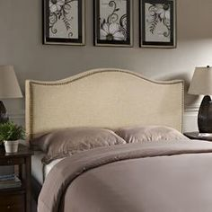 You'll love the Francis Upholstered Headboard at Wayfair - Great Deals on all Furniture  products with Free Shipping on most stuff, even the big stuff.