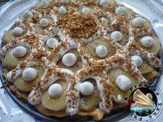 A Prendre Sans Faim: Tarte à la banane «Banoffee pie» http://www.aprendresansfaim.com/2014/11/tarte-la-banane-banoffee-pie.html