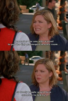 Gilmore Girls + Melissa McCarthy = best. thing. ever.